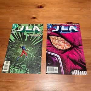 DC comics, #79 ('03) and #77 ('03). JLA lot of 2
